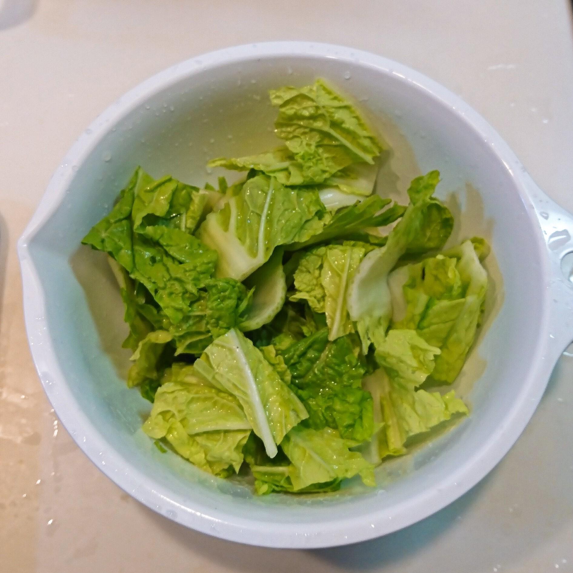 白菜と豚肉のバルサミコ酢炒め